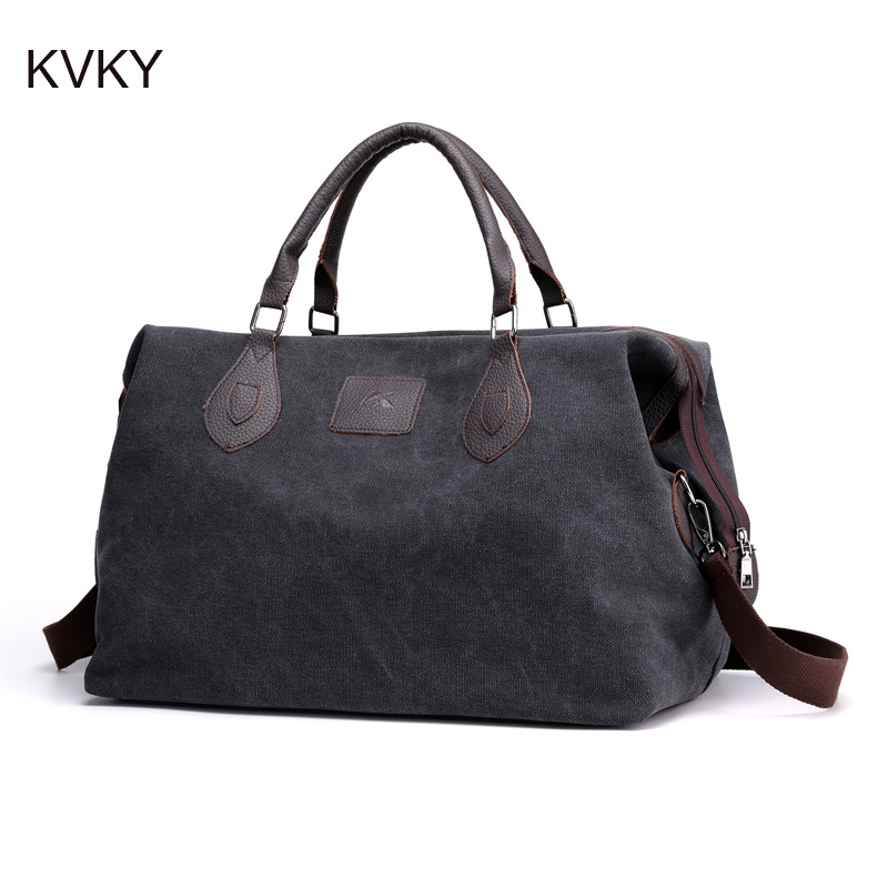 New Quality Travel Bag Canvas Couple Travel Bags Men And Women Hand Luggage For Fashion Traveling Weekend Duffle Bag 2019