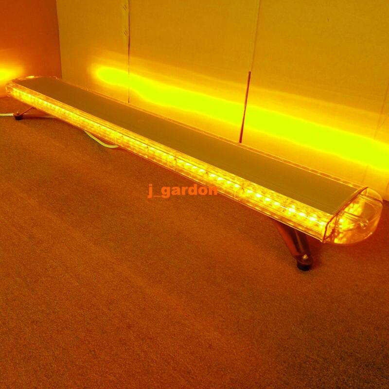 VSLED 12 V-24 V 55 Pouces 104 LED Dépanneuse Phare Clignotant Récupération LightBar Strobe Light Bar Avertissement d'urgence Ambre LED LightBar