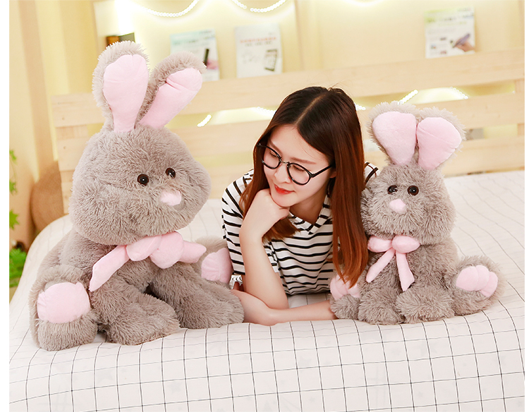 50cm/70cm America rabbit bonnie rabbit plush toy, large long-eared rabbit doll birthday gift girl yesfeier wholesale new toy 45cm cute soft rabbit plush toy adorable fat rabbit amuse plush doll kids girl best birthday gift