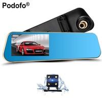 2017 New Dual Lens Car Camera Dash Cam Review Mirror Digital Video Recorder Auto Navigator Registrator