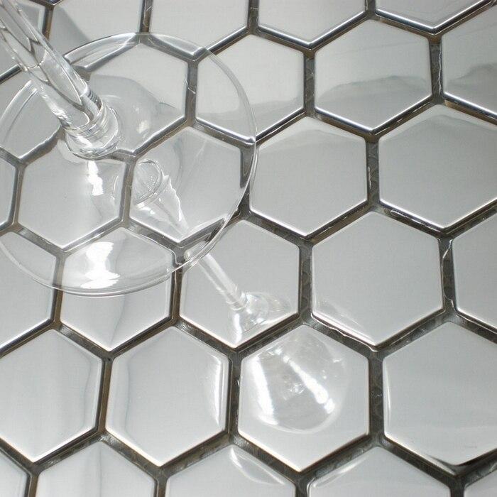 Online Buy Wholesale silver backsplash tile from China silver ...
