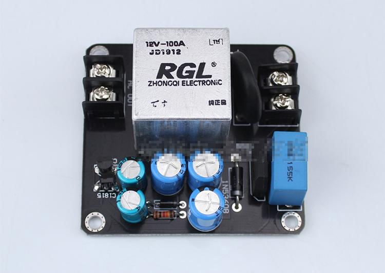 AC 220V 150V-280V RGL soft start Power supply Board high power 100A large current relay suitable for class A amplifier 4000W