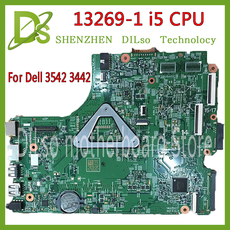 KEFU 13269-1 For DELL 3542 DELL 3442 motherboard 13269-1 PWB FX3MC REV A00 motherboard I5 CPU GM freeshipping