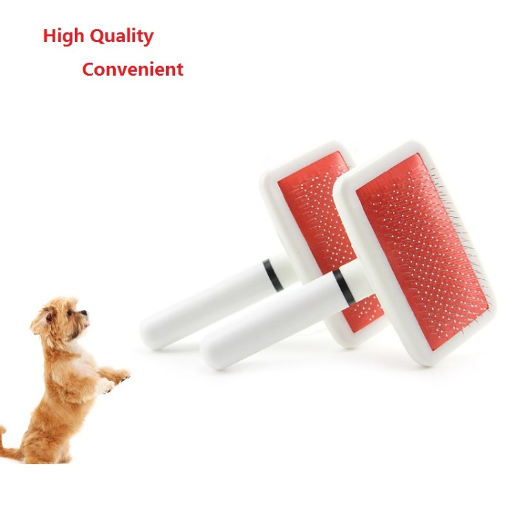 1PC Multifunction Practical Dog Needle Combs Long Hair Brush Plastic Handle Puppy Cat  Massage Bath  Pet Grooming Tools