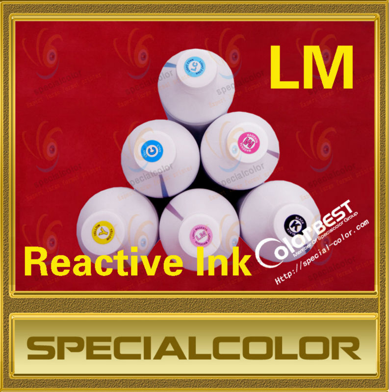 Best Quality! Color LM Textile Reactive Ink for Digital Printer best price 5pin cable for outdoor printer