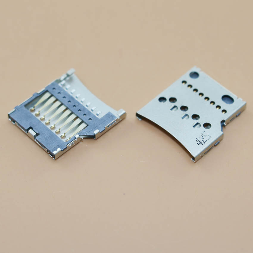 YuXi For Nokia 520 sim card reader holder socket tray slot replacement connector.