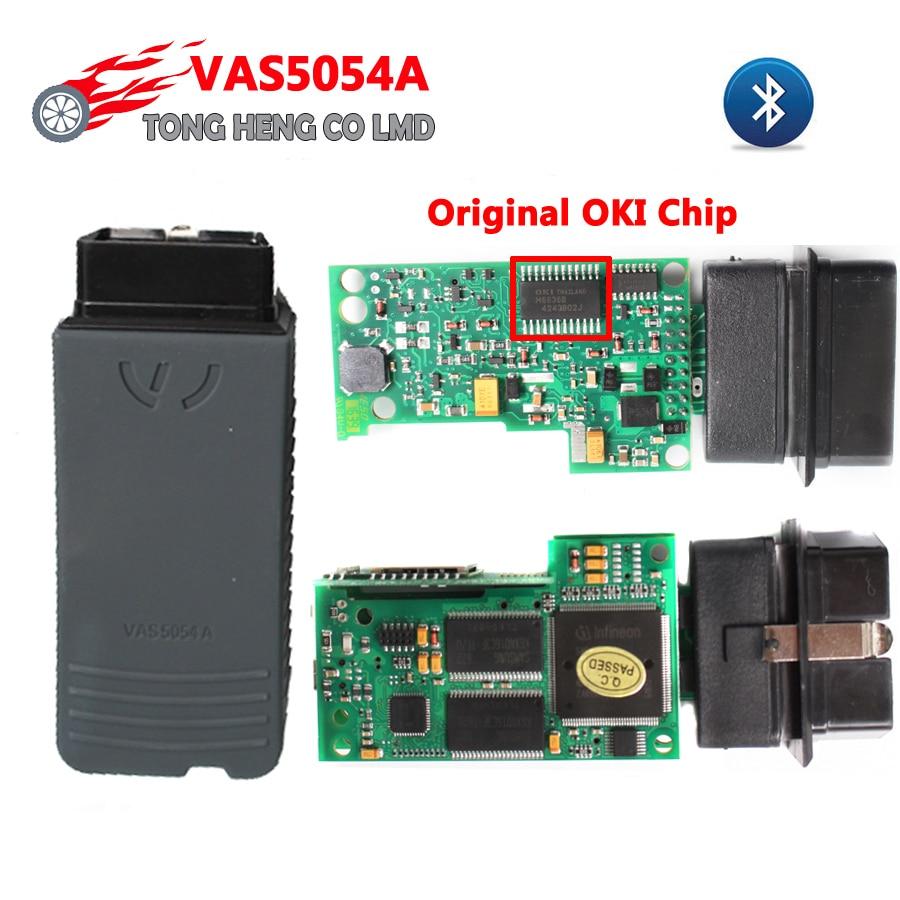 Prix pour Meilleur VAS 5054A avec OKI Original Puces VAS5054 D'origine bluetooth VAS5054A VAS 5054 ODIS 3.03 Soutien UDS Protocole