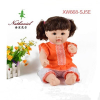 Sitting 35cm Standding 50cm Baby Doll Toy Silicone Reborn Dolls Into The Water For Bathing Baby