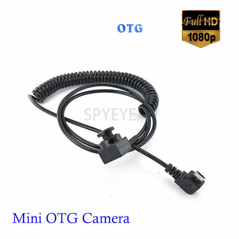 Mini Wide Angle 2.8mm &3.7mm Button Lens OTG Android 2MP Micro USB Camera 1080P Mobile USB Security Kamera For Mobile Phone