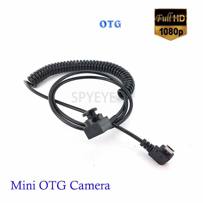 Mini Grand Angle 2.8mm et 3.7mm Bouton Objectif OTG Android 2MP Micro USB Caméra 1080 p Mobile USB sécurité Kamera Pour Mobile Téléphone