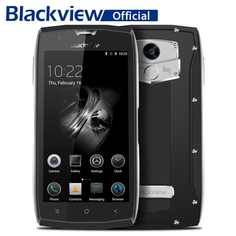 Blackview BV7000 Pro Водонепроницаемый смартфон MT6750T Octa Core 5,0 дюймов мобильный телефон 4 ГБ Оперативная память 64 ГБ Встроенная память 13.0MP Android 6,0 телефона