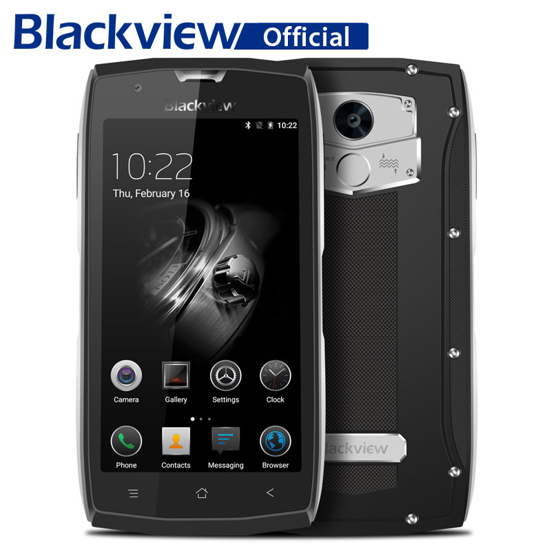 Blackview BV7000 Pro Waterproof Smartphone MT6750T Octa Core 5.0 Inch Moblie Phone 4GB RAM 64GB ROM 13.0MP Android 6.0 Cellphone