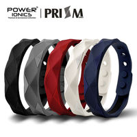 Power Ionics Prism 2000 Ions Titanium Germanium Wristband Bracelet Balance Energy Balance Human Body