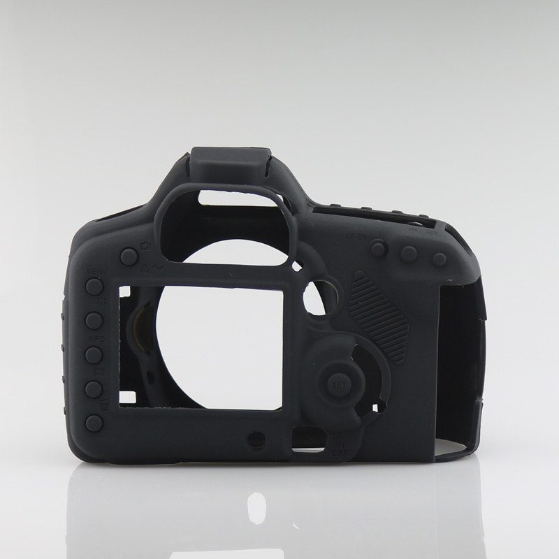 Nice Soft Silicone Rubber Camera Protective Body Cover Case Skin  For Canon 5D2 5DII  Camera BagNice Soft Silicone Rubber Camera Protective Body Cover Case Skin  For Canon 5D2 5DII  Camera Bag