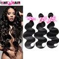 6а необработанные Maylasian волна 100 г/шт. естественно черные волосы дешевые малайзии волос волна 3 шт. много