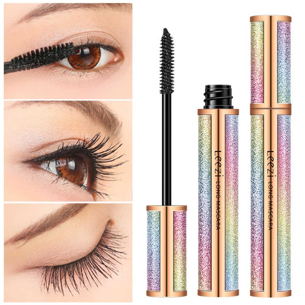207df1ad599 NEW 4D Silk Fiber Lash Mascara Long Curling Mascara Eyelash Black Waterproof  Fiber Mascara Eye Lashes