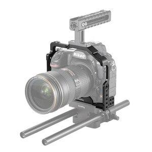Image 4 - Petite Cage de montage pour Nikon D850 avec plaque QR suisse Arca intégrée et Rail otan 2129