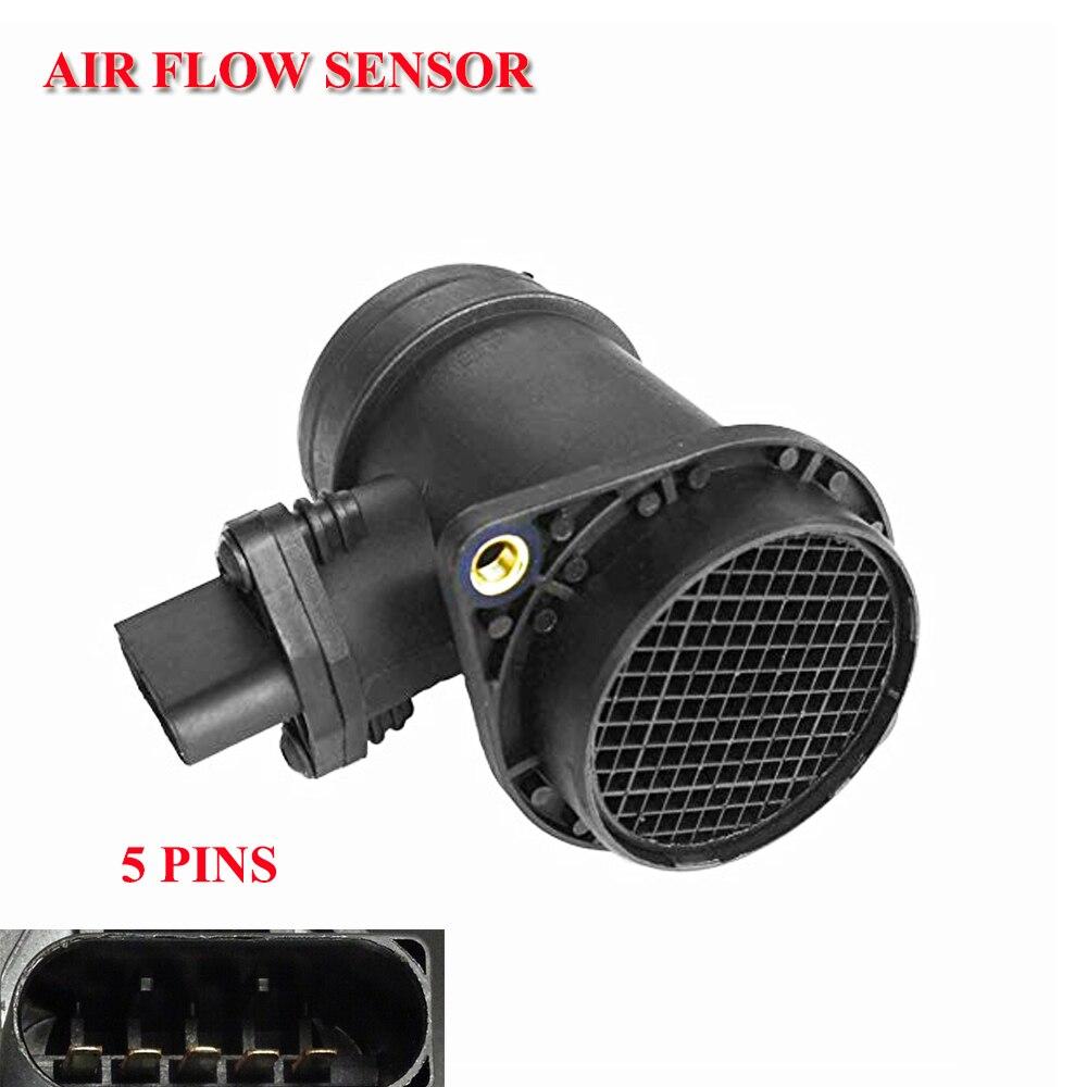 Mass Air Flow Meter MAF חיישן מקרה עבור אאודי A4 A6 quattro פולקסווגן פאסאט B5 1.9 TDI 0281002216, 028906461X, 038906461D, 0986284001