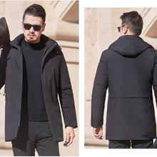 Men s jacket plus velvet padded down padded jacket