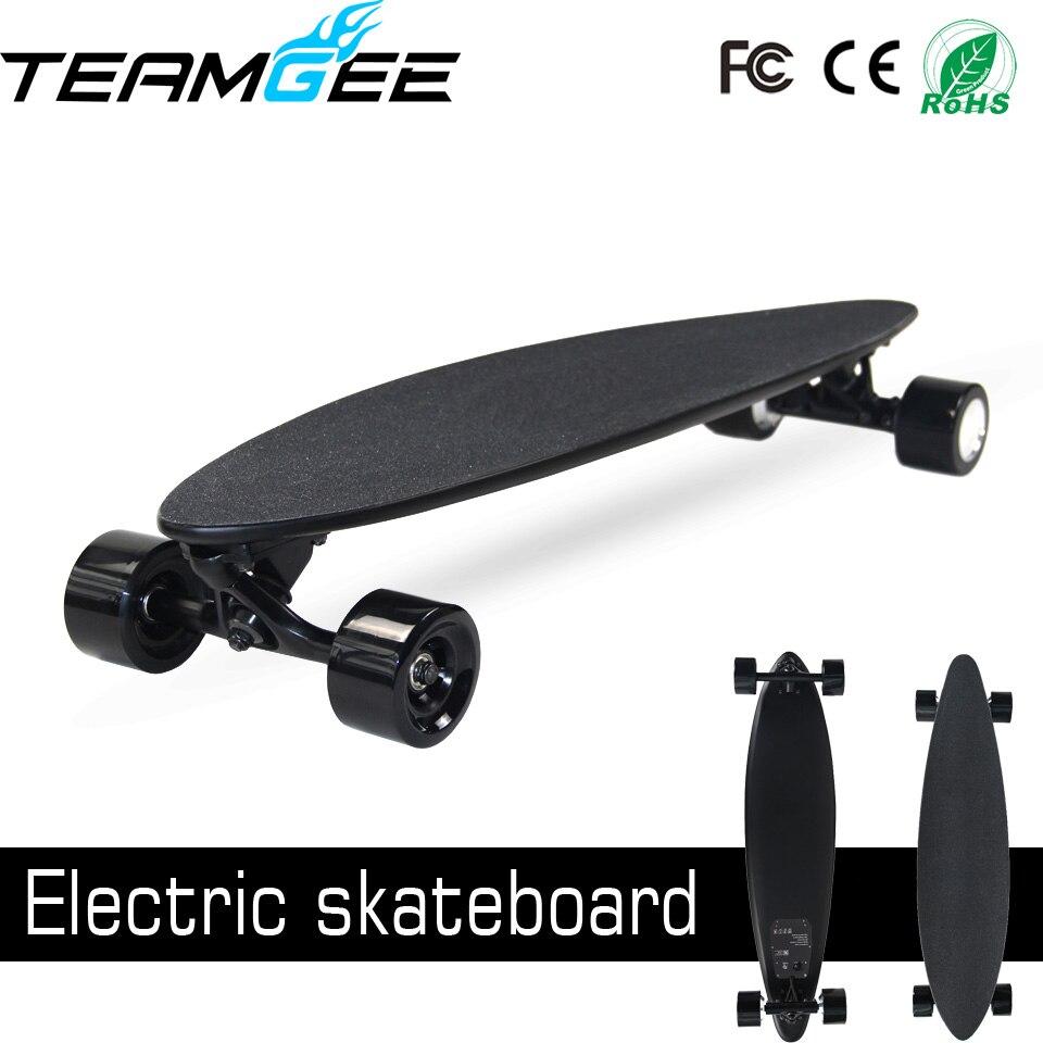 Skateboard Electric Skateboard Board 10 Layers Maple 1 Layer Fiber PU Wheel 300 2w Motor Power