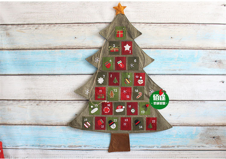 Aliexpress.com : buy new hanging christmas advent calendar countdown