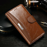 Redmi Note 4 Case Luxury Leather TPU Wallet Flip Cover Dirt Resistant Phone Cases For Xiaomi