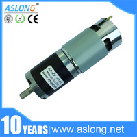 PG42 775 high torque low noise dc planetary gear motor with 42mm gearbox