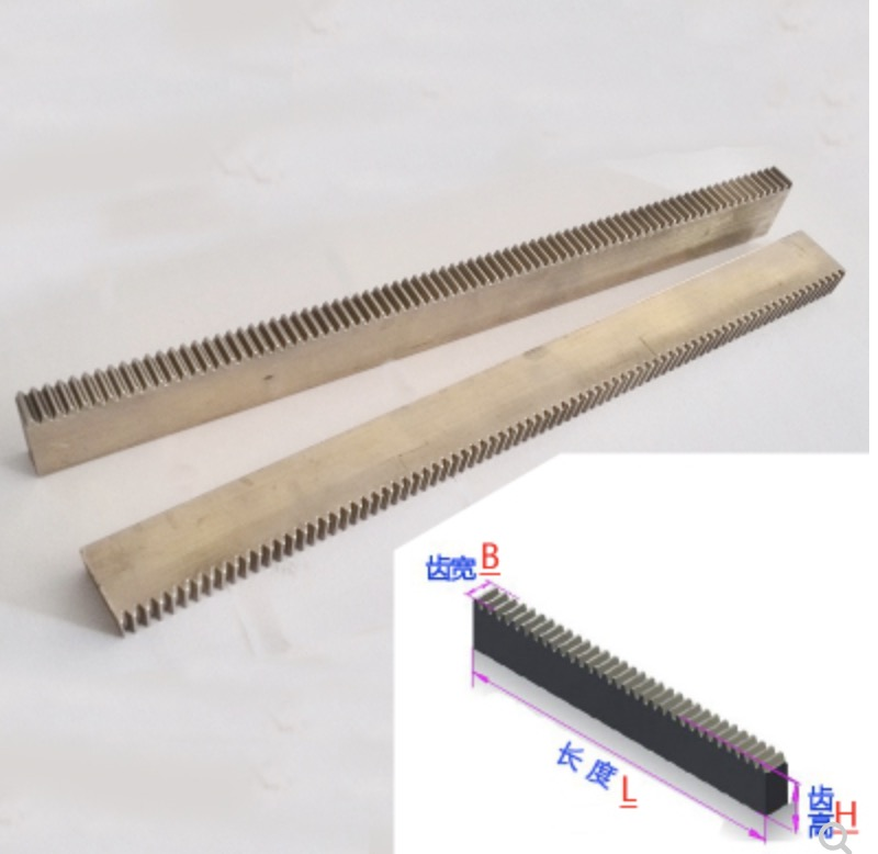2pcs/lot 5x10x200mm 0.5M- Metal Drive Rails Slide Precision Motors DIY Small Module Spur Gear Rack цена