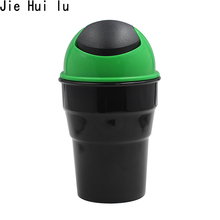 цены на Universal Car Trash Bin Car Garbage Can Rubbish Car Trash Can Garbage Dust Case Holder Bin Automobile Storage Bucket Accessories  в интернет-магазинах