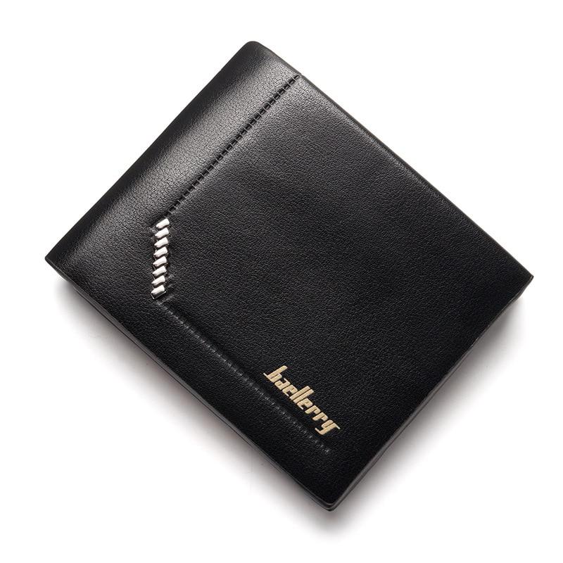 Hot new 2018 Brand mens wallet fashion design Pu leather man purse Small mini short Luxury quality gentleman Coin Purse