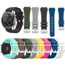 Спортивный ремешок для huawei часы GT Силиконовые браслеты для часов для Honor часы Magic Браслет замена ремешок Smart аксессуары для часов