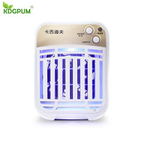 5.2W 220V LED Intelligent Light control Mosquito Killer Trap Lamp Moth Fly Wasp Insect Electric Shock Repellent Bug Zapper