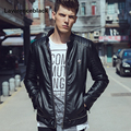 Leather Jacket Men Punk Brand Slim Suede Luxury Fashion Coats Jaquetas Casual Leather Motor Jacket Motorcycle Jackets Coats 158