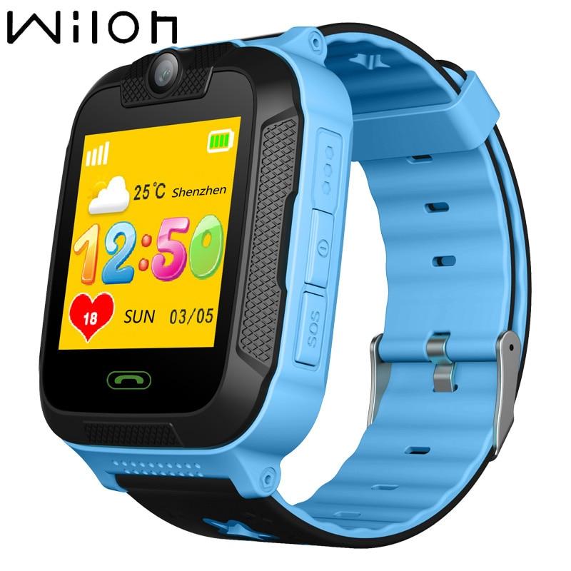 GPS tracker kids watch Smart watches 3G WCDMA 1 4 IPS TFT Camera SOS Call Location