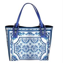 7b406bd997c Luxe Italië Brand Sicilië Etnische Stijl Tas Echt Leer Siciliaanse Vrouwen  Shopper Tote Beroemde Designer Schoudertas