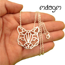 2017 Cute Cat Animal Pendant Necklace Gold Silver Plated Jewelry For Women Male Female Persian Sphynx Siamese Punk Christmas