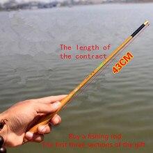 Ultrashort mini portable1.8-6.3M Stream Fishing Rod Carbon Fiber Telescopic Fishing Rod Ultra Light Carp Fishing Pole