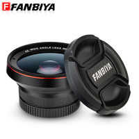 FANBIYA Micro Phone Lens 2 In 1 Zoom Phone Universal Telephoto Camera Lenses Super Wide