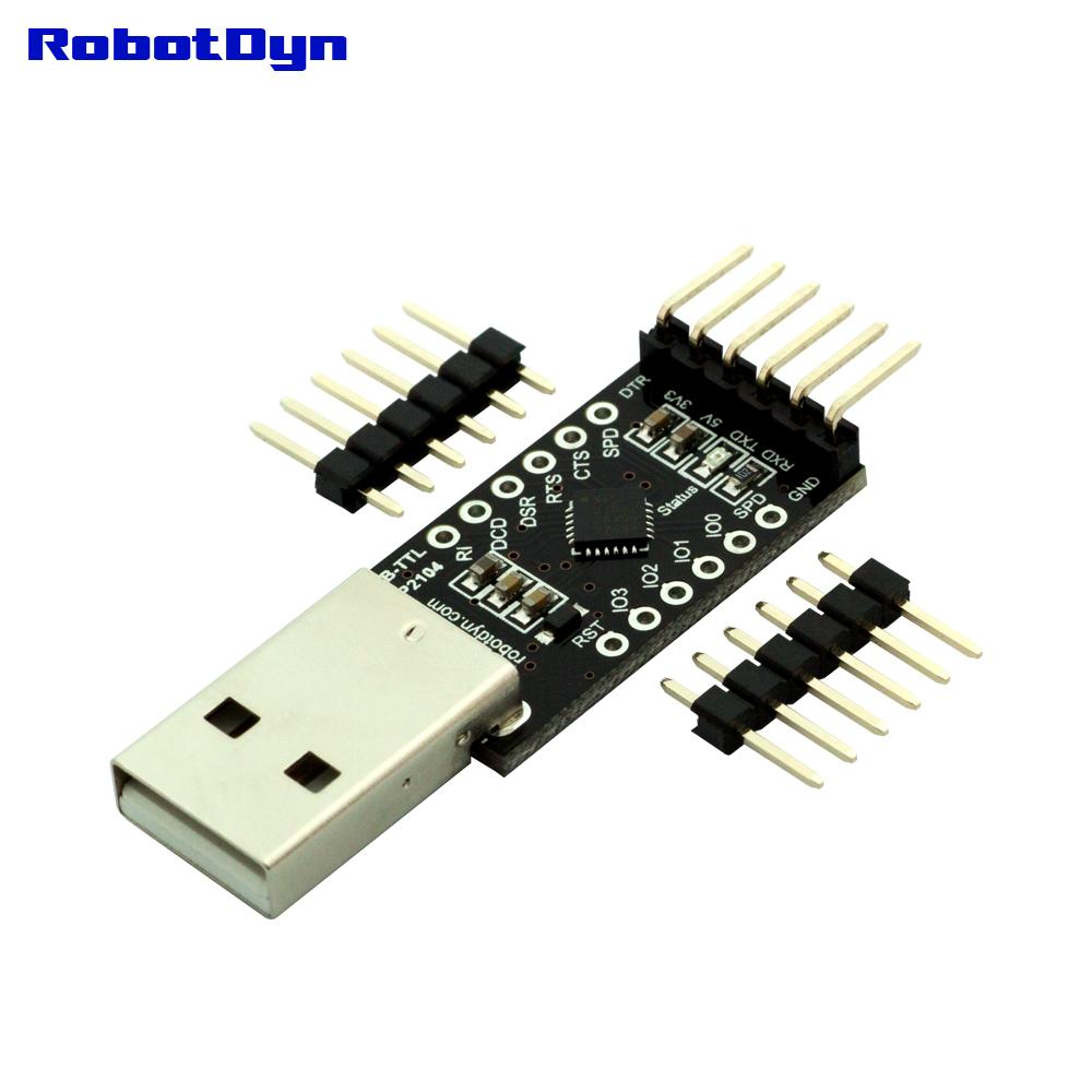 USB-TTL UART CP2104