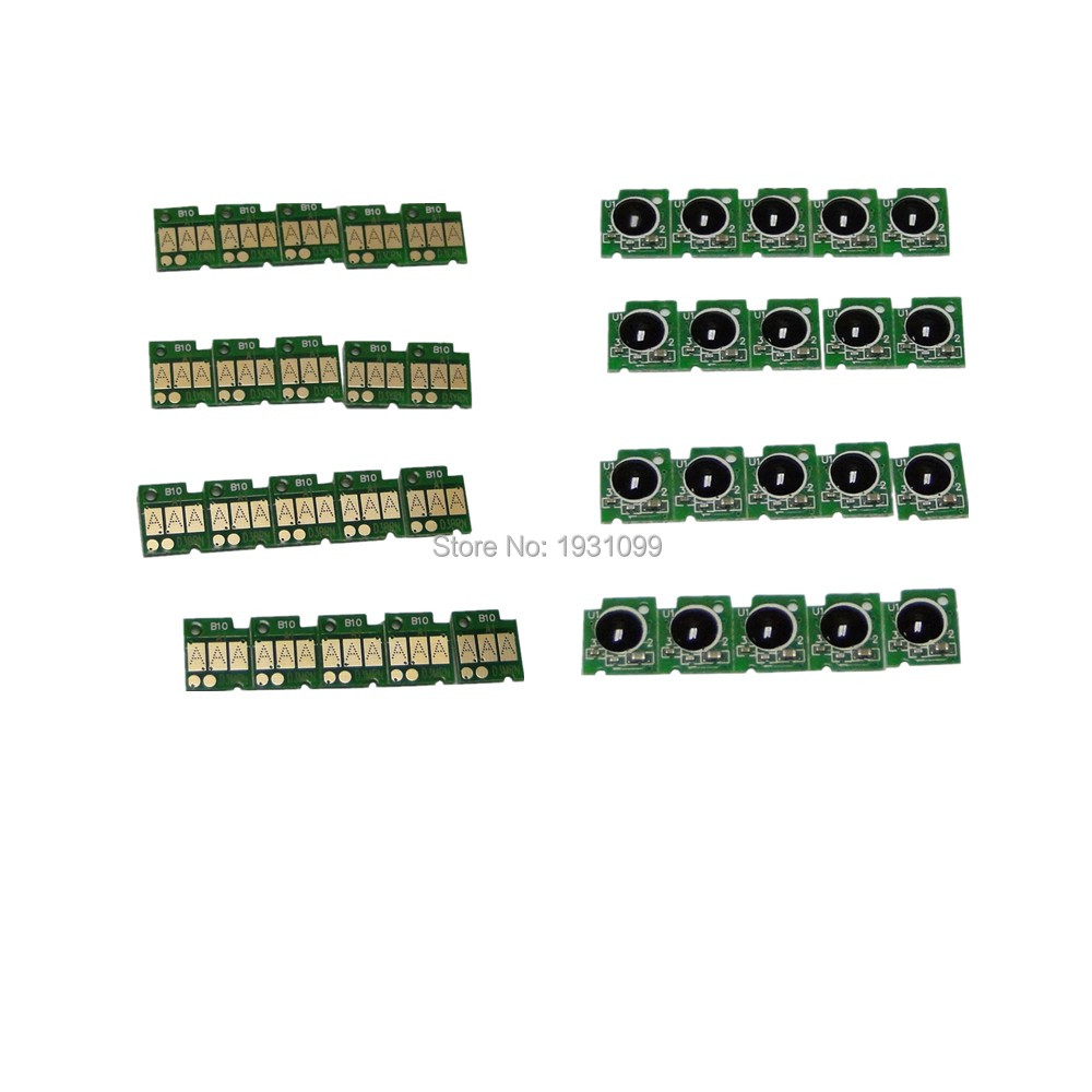 40pcs Cartridge chip LC217 LC215 LC217 215 For brother DCP-J4220N-B/W 4225N-W/B MFC-J4720N J4725N  MFC-J5620CDW for brother lc22u lc 22u lc 22u permanent chip for brother mfc j985dw dcp j785dw