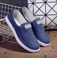2017 Spring Summer Washed denim Men canvas Shoes Fashion comfortable Breathable Shoes Slip on Mens Casual Shoes Men Flats 39-44