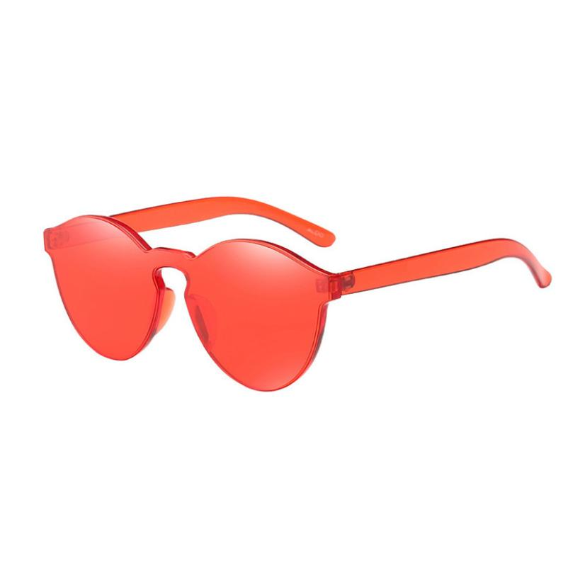#5 Women Fashion Cat Eye Shades Sunglasses Integrated UV Candy Colored Glasses