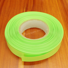 10m/lot fruit Green 18650 Lithium Battery Pvc Heat Shrinkable Casing Tube Polymer Film