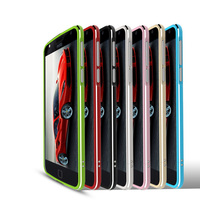 Luxury Shiny Glossy Aluminum Metal Frame For Moto Z Play Bumper Case Hign End Protective Frame