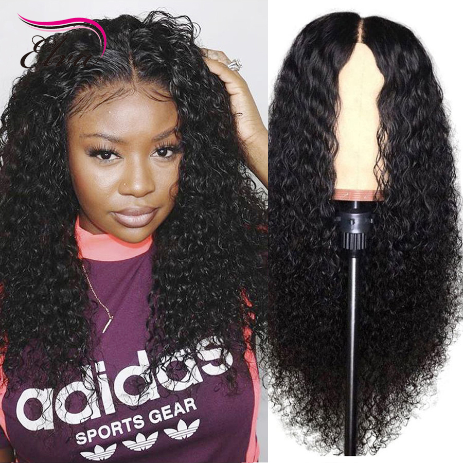 Elva Full Lace Human Hair Wigs with Baby Hair Pre Plucked Natrual Hairline Brazilian Remy Hair