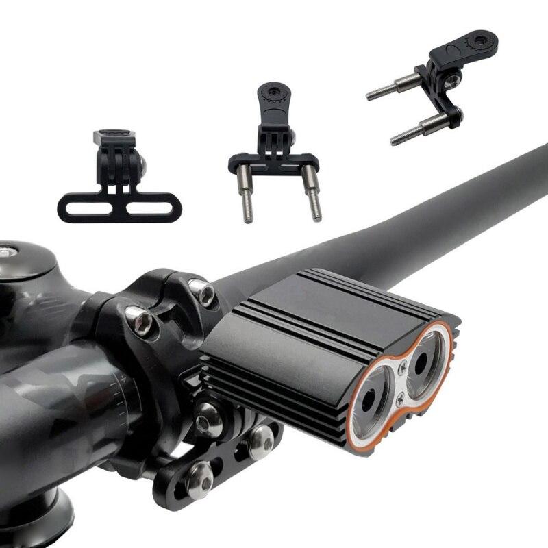 Алюминиевая велосипедная лампа/держатель света держатель на Руль адаптер для спортивной лампа освещения для камеры стойка для цифровой ка...