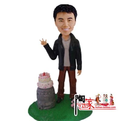 2016 Limited Real Anime Brinquedos Minions Wedding Birthday Bride And Groom font b Cake b font