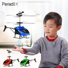 Mini Aircraft Helicopter 2CH Sensoring Hand Induction Kids Children Toys Crush Resistance RC Drone Boys Gifts 3Colors Outdoor