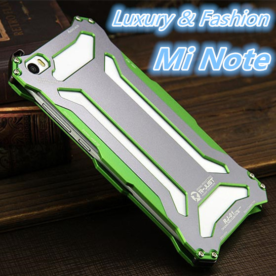 Xiaomi Mi Note Pro Dropproof Case For Xiaomi Mi Note 5.7-inch Deluxe Aluminum Cover Shockproof case Protective shell RJ