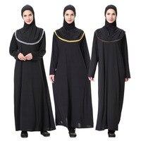 Middle East Dubai Kaftan Muslim Evening Dress Design Plus Size Robe Kaftan Abaya Dress Turkish Muslim
